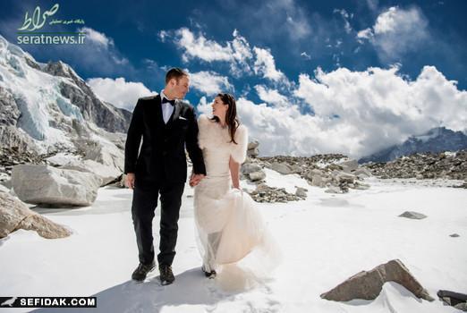 عروسی روی کوه اورست بعضی از مردم دوست دارند همیه خاص باشند حتی اگر به قیمت تمام شدن جان آنها باشد . جیمز و اشلی دو زوج جوان امریکایی از آن دسته افرادی هستند که دوست دارند همیشه خاص و منحصر به فرد جلوه کنند . این دو زوج جوان برای خاص بودن تصمیم گرفتن […]