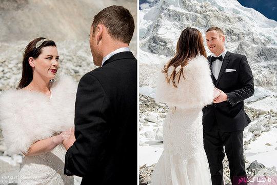 مراسم عروسی شگفت انگیز روی کوه «اورست» یک زوج کالیفرنیایی ثابت کردند، اگر با عشق نمی توان کوه ها را جابجا کرد، لااقل می توان از کوه بالا رفت. اشلی و جیمز یک زوج خوشبخت کالیفرنیایی که دیگر از کلیشه ها و تکرارهای مراسم عروسی خسته شده اند، تصمیم گرفتند تا یک کار درست و […]