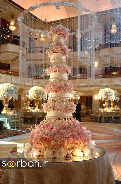 این مجموعه کیک های عروسی فوق العاده لاکچری ست! امروزسوربانبرای شما کالکشنی شگفت انگیز ازباشکوه ترین کیک های عروسیدنیا را جمع آوری کرده است. این مجموعه بی نظیر را از دست ندهید! باشکوه ترین و لوکس ترین کیک های عروسی ۲۰۱۷ باشکوه ترین و لوکس ترین کیک های عروسی بسیار زیبا باشکوه ترین و لوکس […]