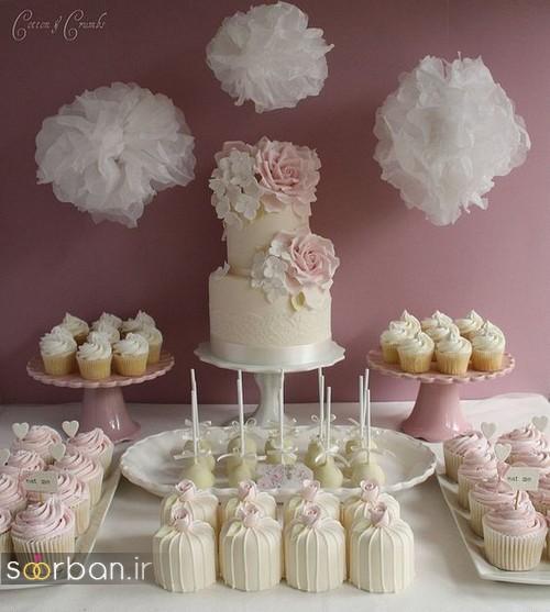 اپ کیک های عروسیجایگزین بسیار مناسب و زیبایی برایکیک های عروسیسنتی است. اینکاپ کیک هامیتواند تنوع بی نظیری داشته باشد. بافوندانتباشد یا باخامهتهیه شود،وانیلیباشد یاشکلاتیو یا حتیرد ولوت!کاپ کیکمعمولا یا بر رویچند طبقهچیده میشود یا برایتزیینکیکعروسیدور کیک قرار داده می شود. ویژگی اصلی دیگرکاپکیکاین است که تقسیم کردن آن بین مهمان ها خیلی راحت تر […]